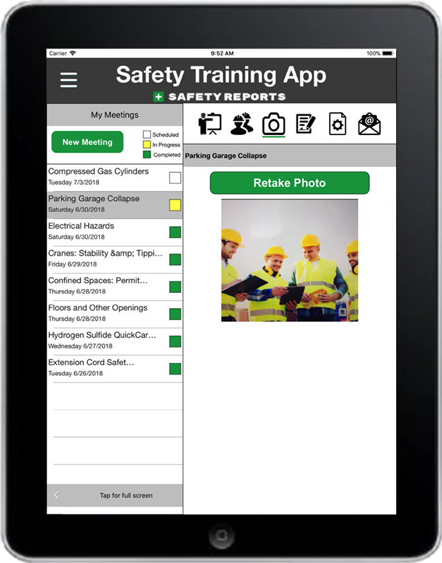 Safety Training App