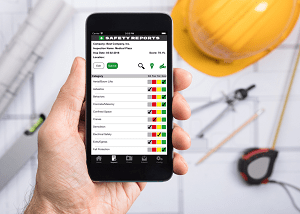 HOLDING 300x214 - Safety Inspection App