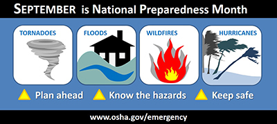 image - September is National Preparedness Month: Keep Workers Safe from Natural Disasters
