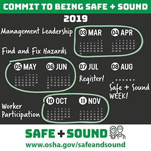 image 1 - Get Ready for Safe + Sound 2019