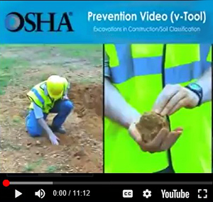 image 6 - Trenching and Soil Classification video available on OSHA's website