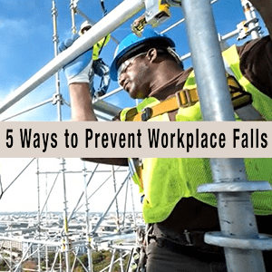 image 4 - 5 Ways to Prevent Workplace Falls