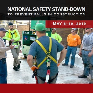 image - Sixth Annual National Fall Stand-Down Begins May 6